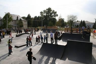 Роллердром, скейт парк